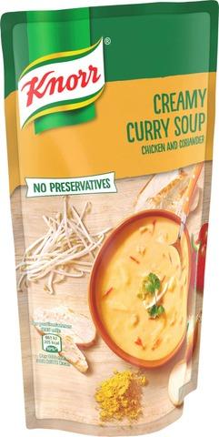 Knorr Currykeitto kanalla ja korianterilla 570 ml