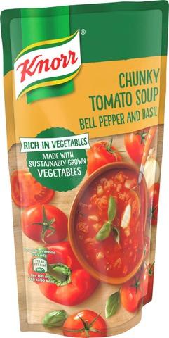 Knorr Tomaattikeitto Paprikalla Ja Basilikalla 570 Ml