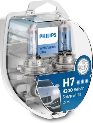 H7/W5w Whitevision Ultra Ajovalopolttimo
