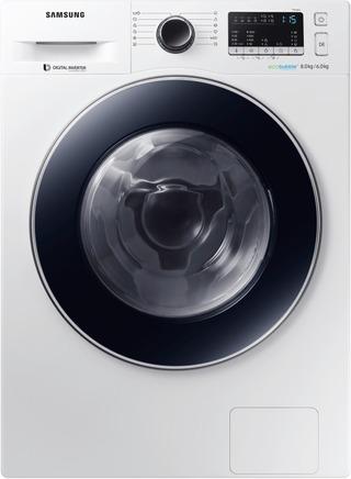 Samsung Kuivaava Pyykinpesukone Wd80m4b33jwee