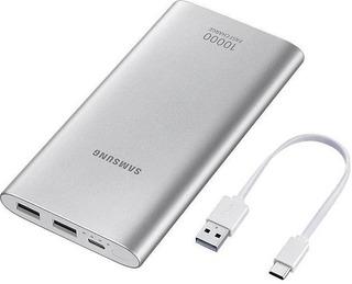 Samsung Fast Charge 10000Mah Varavirtalähde Hopea