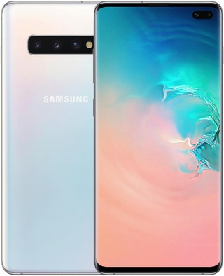 Samsung Galaxy S10+ Älypuhelin 128Gb Prism White