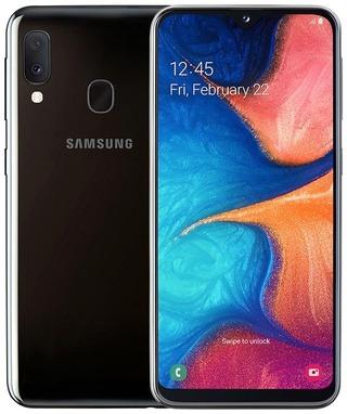 Samsung Älypuhelin Galaxy A20e 32Gt Musta