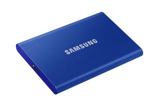 Samsung T7 Ssd-Levy 500Gb Sininen