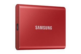 Samsung T7 Ssd-Levy 1Tb Punainen