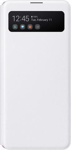 Suoja Galaxy A41 S View Wallet Valkoinen