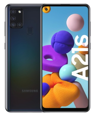 Galaxy A21s 32Gb Musta
