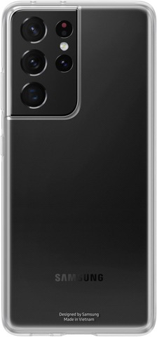 Samsung Suojakuori Clear Cover S21 Ultra