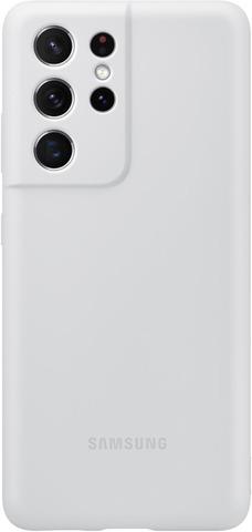 Samsung Suojakuori Silicone S21 Ultra Harmaa