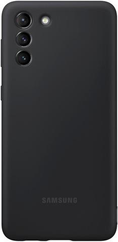 Samsung Suojakuori Silicone S21+ Musta