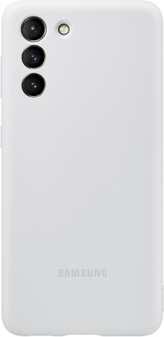 Samsung Suojakuori Silicone S21 Harmaa