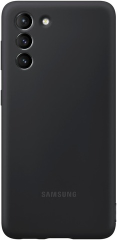 Samsung Suojakuori Silicone S21 Musta