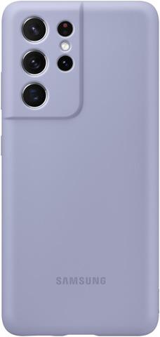 Samsung Suojakuori Silicone S21 Ultra Violet