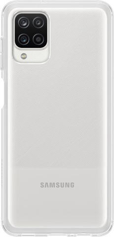 Samsung Suojakuori Soft Clear Cover A12 Läpin.
