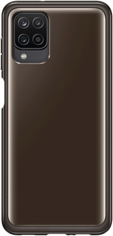 Samsung Suojakuori Soft Clear Cover A12 Musta