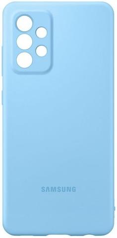Samsung Suojakuori Silicone A52 Sininen