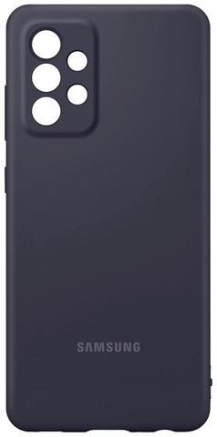 Samsung Suojakuori Silicone A52 Musta