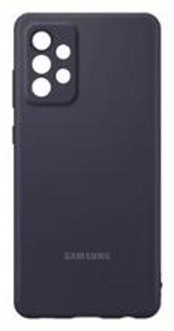 Samsung Suojakuori Silicone A72 Musta