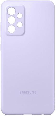 Samsung Suojakuori Silicone A52 Violetti