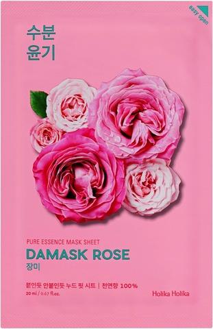 Holika Holika Pure Essence Damask Rose Kangasnaamio 20Ml