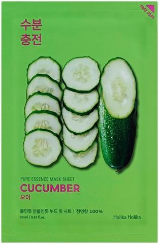 Holika Holika Pure Essence Cucumber Kangasnaamio 20Ml