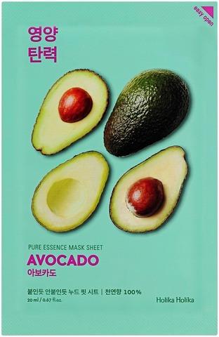 Holika Holika Pure Essence Avocado Kangasnaamio 20Ml