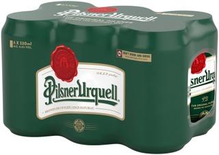 Pilsner Urquell 4,4% 33Cl Tlk