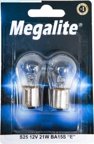 Megalite Autolamppu 12498 12V 21W 2Kpl