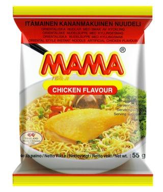 Mama Kananmakuinen Nuudeli 55G