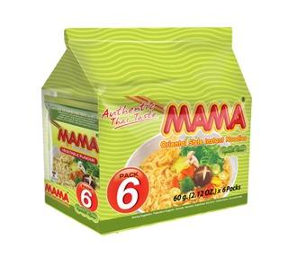 6X Mama Itämainen Vihanneksenmakuinen Nuudeli 60G