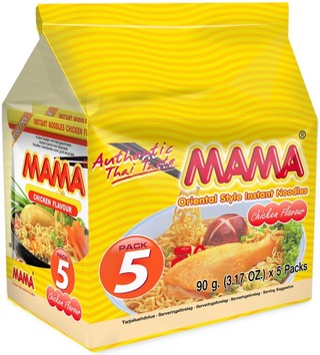 5X Mama Kanamakuinen Nuudeli 90G