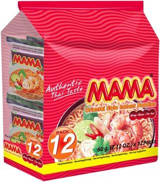 12X Mama Itämainen Katkaravunmakuinen Nuudeli 60G