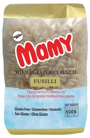 Mama Täysjyväriisi Fusilli 500G