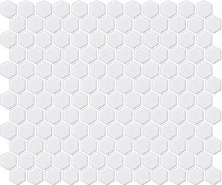 Lpc Hexagon Xs 2,3X2,3 Matta Valkoinen Mosaiikki