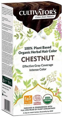 Cultivator's Luomusertifioitu Kasvihiusväri Chestnut 100G