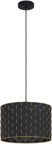Eglo Riippuvalaisin Marasales 380Mm Musta, Messinki