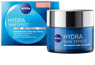 Nivea 50Ml Hydra Skin Effect Regeneration Gel Cream -Yövoide