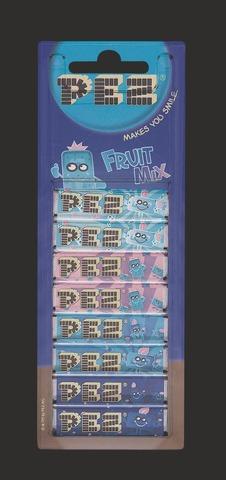 Pez 8X 8,5G Fruit Mix 8-Täyttöpakkaus