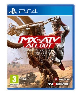 PlayStation 4 peli MX vs ATV All Out