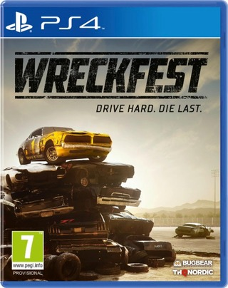 Playstation 4 Peli Wreckfest