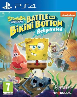Ps4 Spongebob Squarepants: Battle For Bikini Bottom Rehydrated