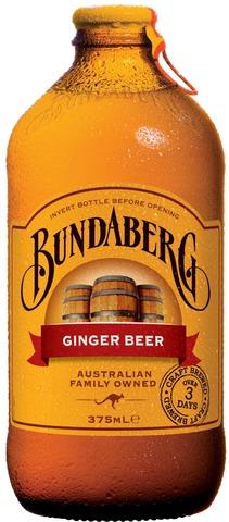 Bundaberg 37,5Cl Ginger Beer 0% Pullo