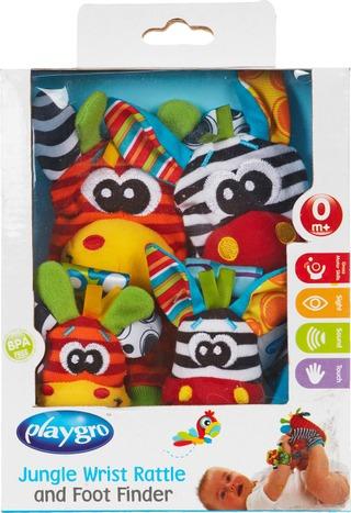 Playgro vauvan käsi- ja jalkahelistimet