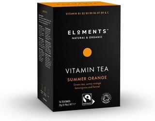 Reilun Kaupan Eloments Summer Orange Luomuvitamiinitee 14 Pss
