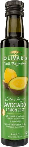 Olivado 250Ml Extra Virgin Avokadoöljy Sitruuna