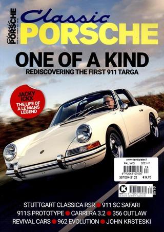 Classic Porsche aikakauslehti