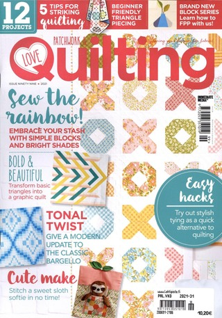 Love Patchwork & Quilting aikakauslehti
