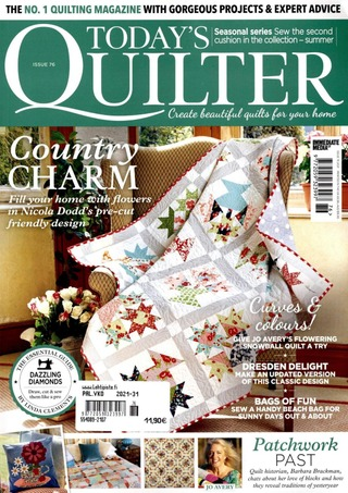 Today's Quilter aikakauslehti