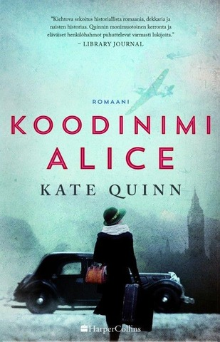 Harpercollins Nordic Kate Quinn: Koodinimi Alice