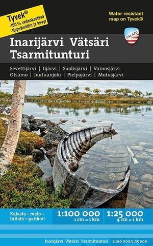 Inarijärvi Vätsäri Tsarmitunturi